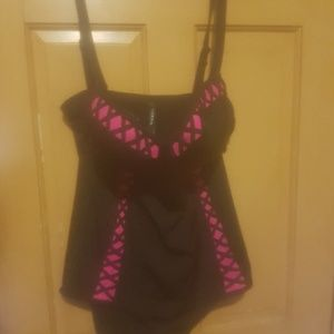 Torrid size 2 one piece swimsuit